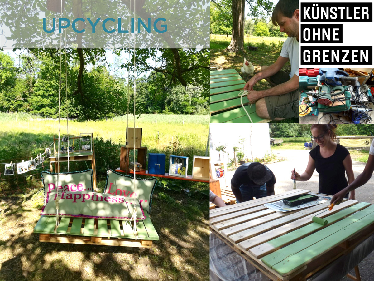 KuenstlerOhneGrenzen_Upcycling_Projektbilder